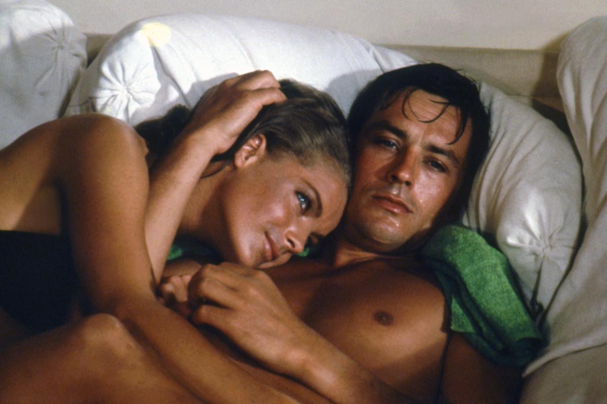 Alain Delon y Romy Schneider son los protagonistas de una cinta venerada por los cinéfilos.