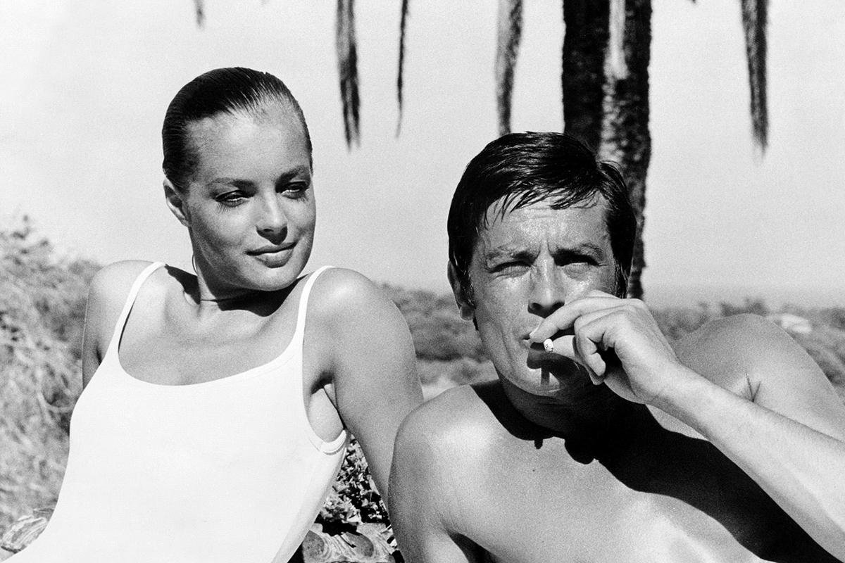 Alain Delon y Romy Schneider trasladaron su química en la vida real en la que fueron pareja a la película.