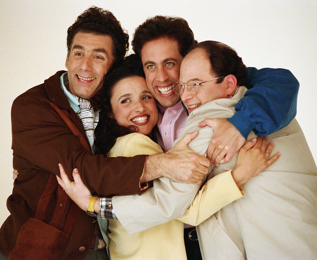 The cast of 'Seinfeld'.