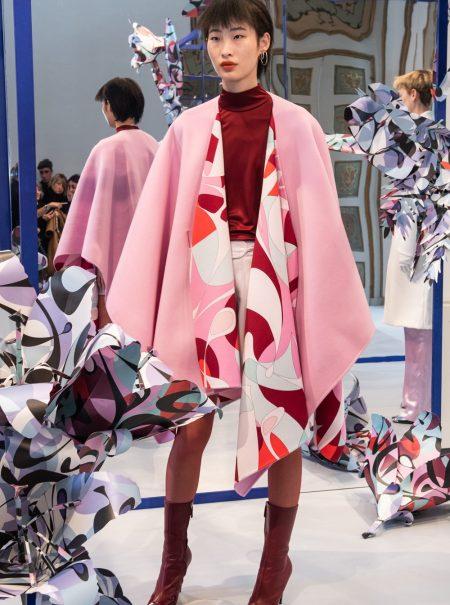 Pucci recrea un viaje a través de un jardín japonés para la próxima primavera