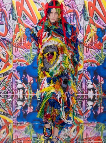 El caos del mundo moderno inspira la nueva colección de Galliano para Maison Margiela