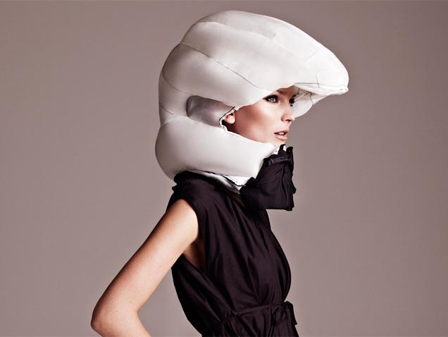 El airbag de los ciclistas coquetos