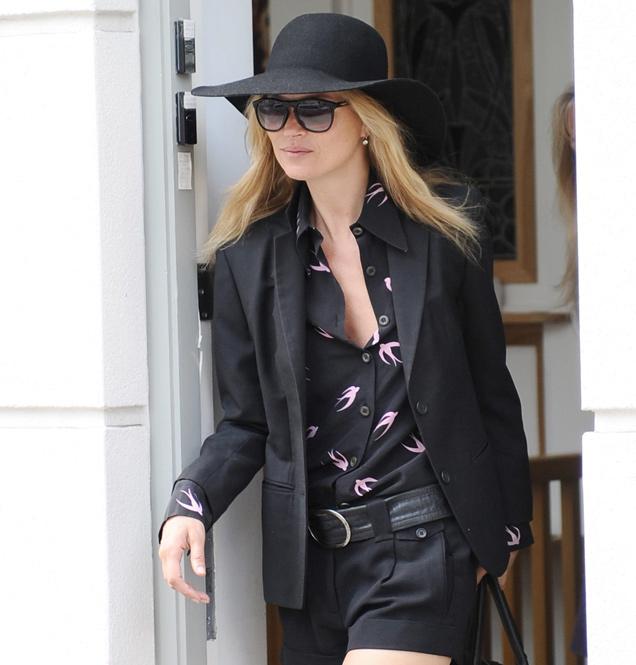 Kate Moss como icono de estilo