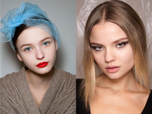 Cuatro maquillajes de pasarela que se pueden intentar en casa