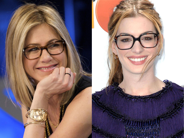 Jennifer Aniston y Anne Hathaway