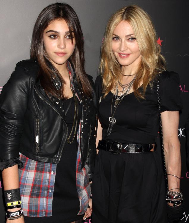 Madonna y Lourdes Maria