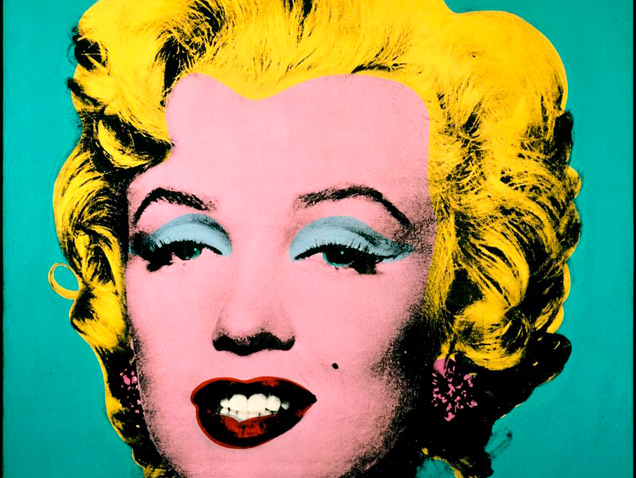 Marilyn Monroe por Andy Warhol