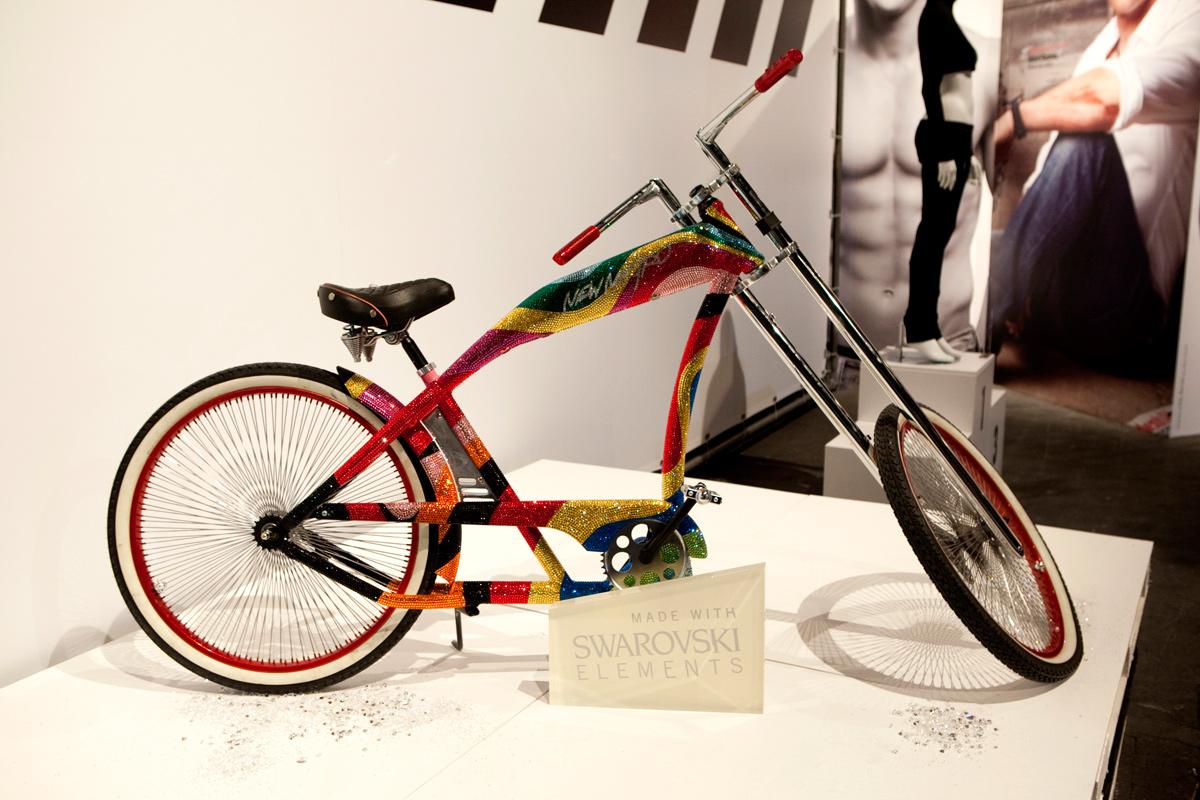 Bicicleta Swarovski