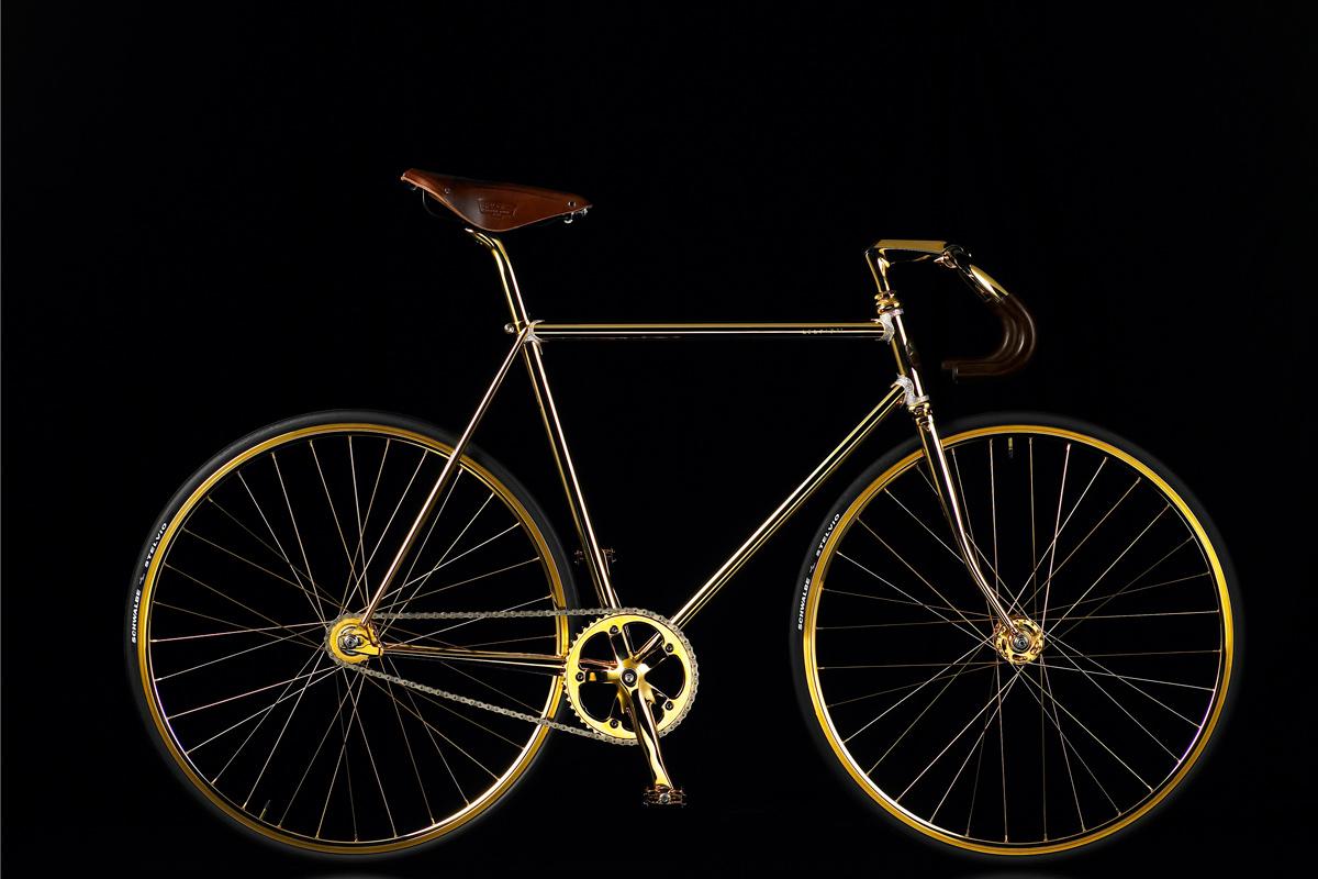 Bicicleta Swarovski Aurumania