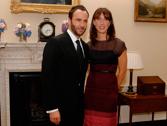 Tom Ford y Samantha Cameron