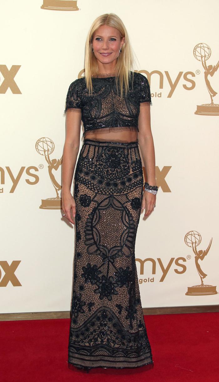 Gwyneth Paltrow vestida de Pucci en la gala de los Emmy 2011