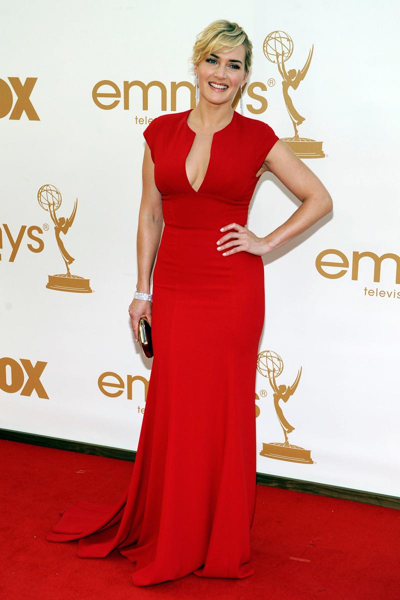 Kate Winslet en los Emmy con vestido de Elle Saab