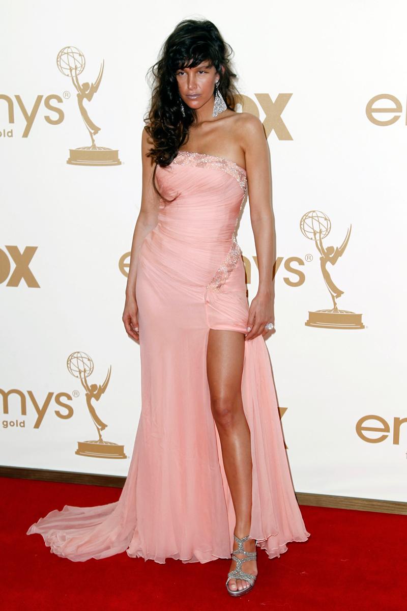 Paz de la Huerta en los Emmy 2011