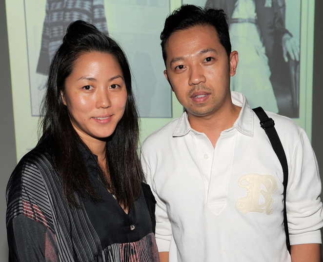 Carol Lim y Humberto Leon