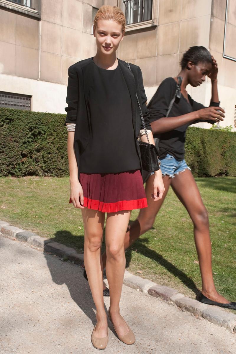 Modelos después del trabajo: París Fashion Week