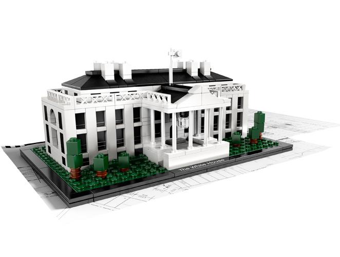 Casa Blanca de Lego