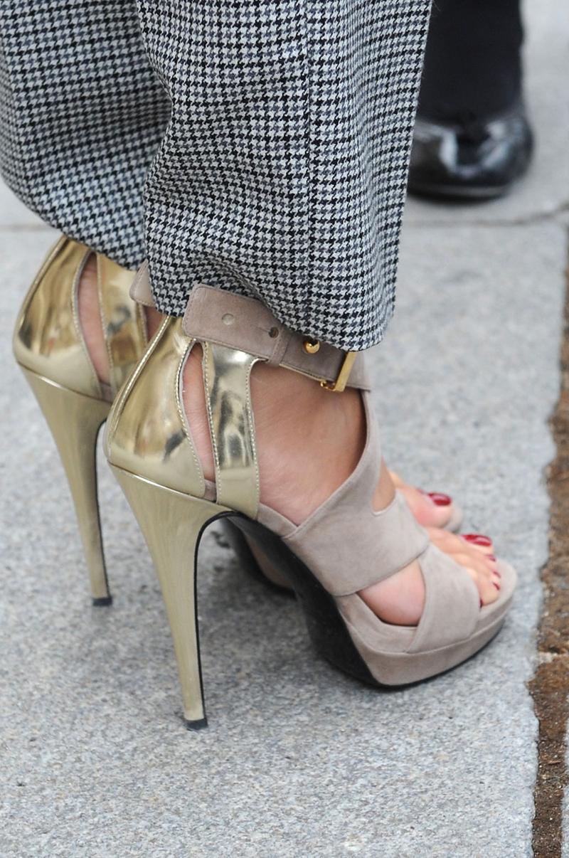 zapatos dorado