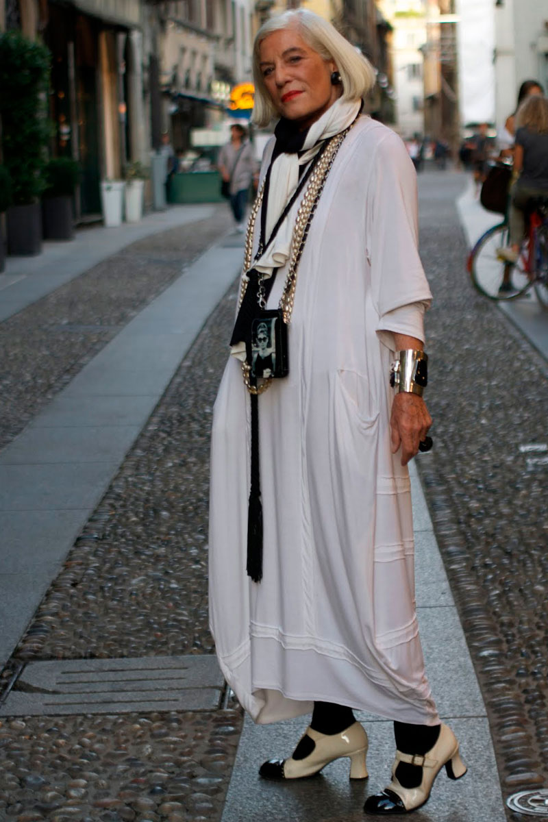 La moda se hace mayor