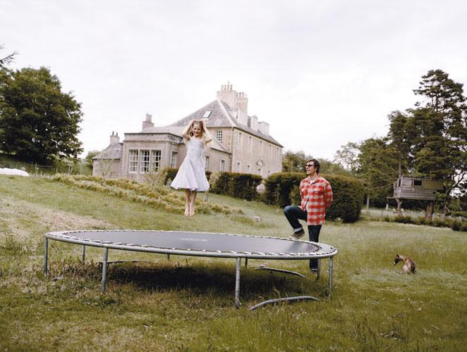 Stella Tennant: su castillo y su príncipe