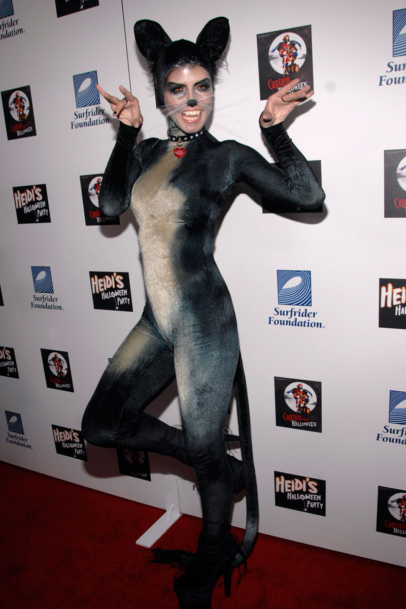Heidi Klum al desnudo