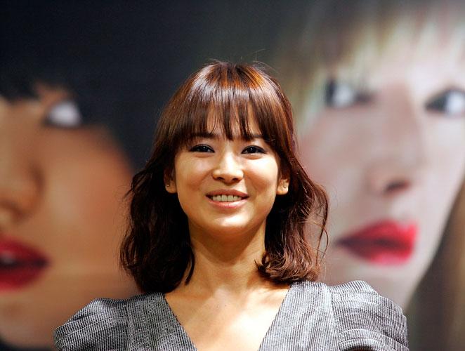La actriz coreana Song Hye Kyo