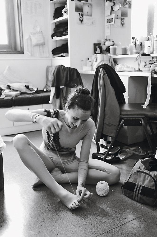 Danza en blanco y negro