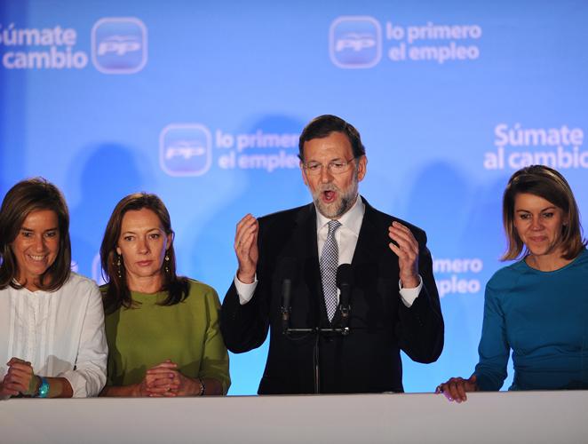 Las 10 mujeres en las que confía Rajoy