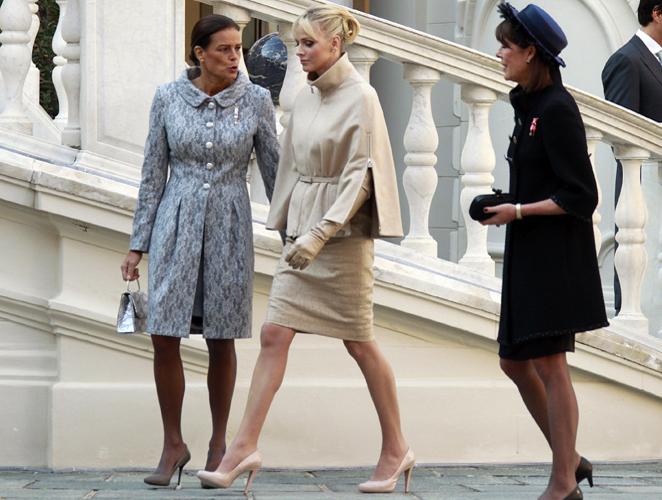 El estilo de las princesas en el Día Nacional de Mónaco