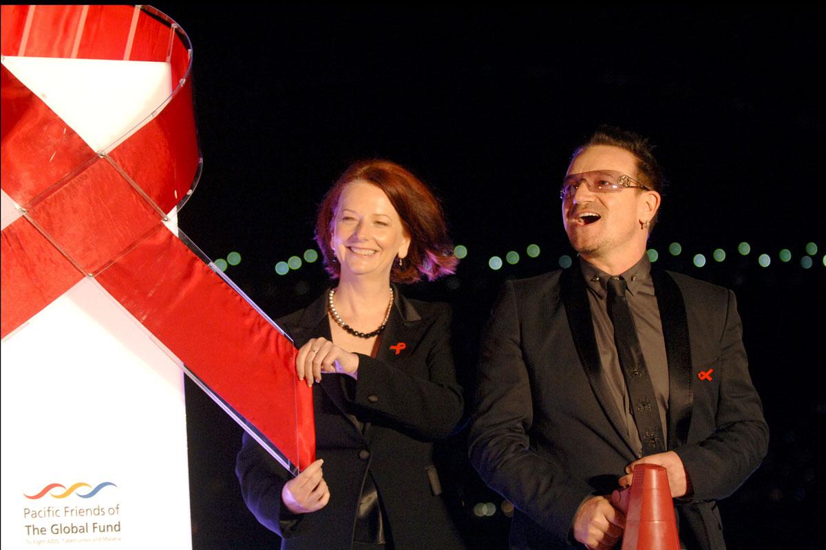 30 años de lucha contra el sida en 30 famosos
