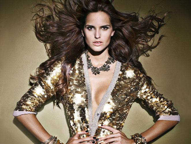 Vestimos de oro al ángel de Victoria's Secret Izabel Goulart