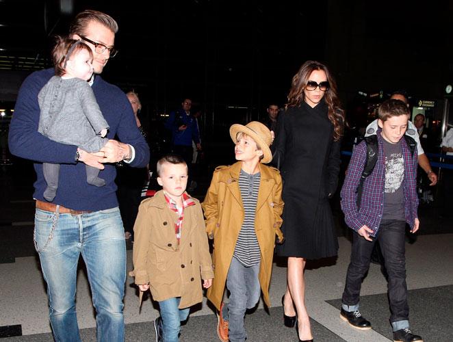 ¿Cómo sería la nueva pandilla parisina de los Beckham?