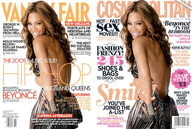 Beyonce portada repetida
