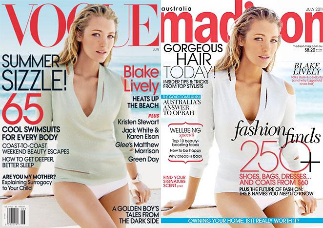 Blake Lively portadas repetidas