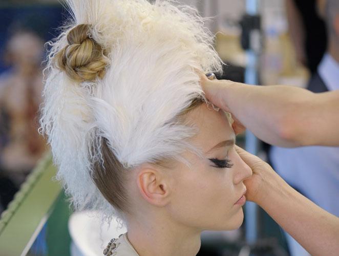 Se llevan los adornos en el  pelo