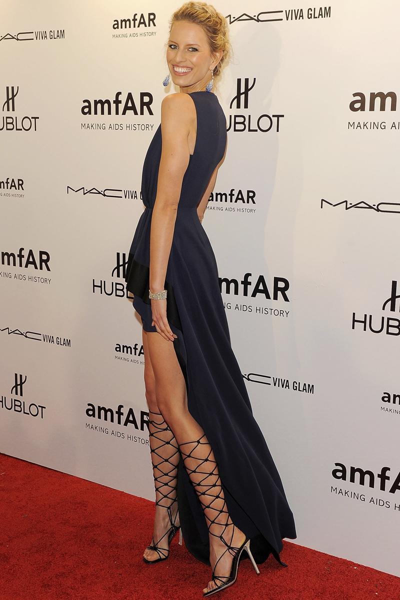 Famosas en la gala amfAR de Nueva York