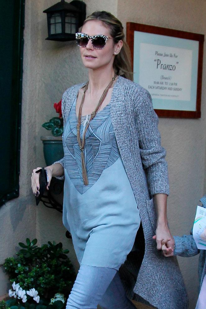 Copia el look de Heidi Klum (por cortesía de las hermanas Olsen)
