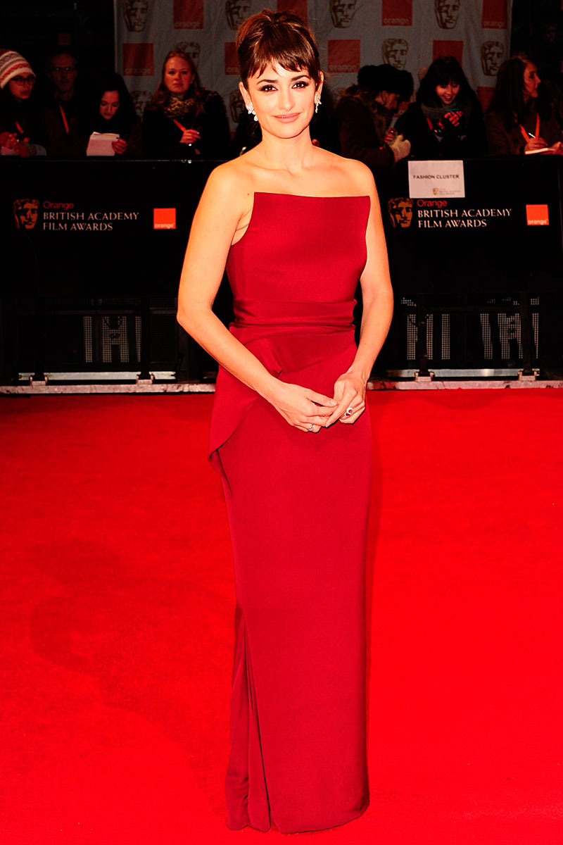 Penelope Cruz bafta 2012