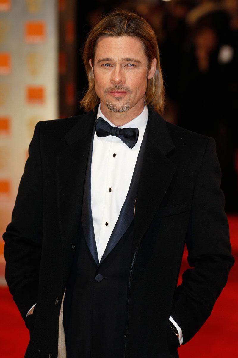 Brad Pitt bafta 2012