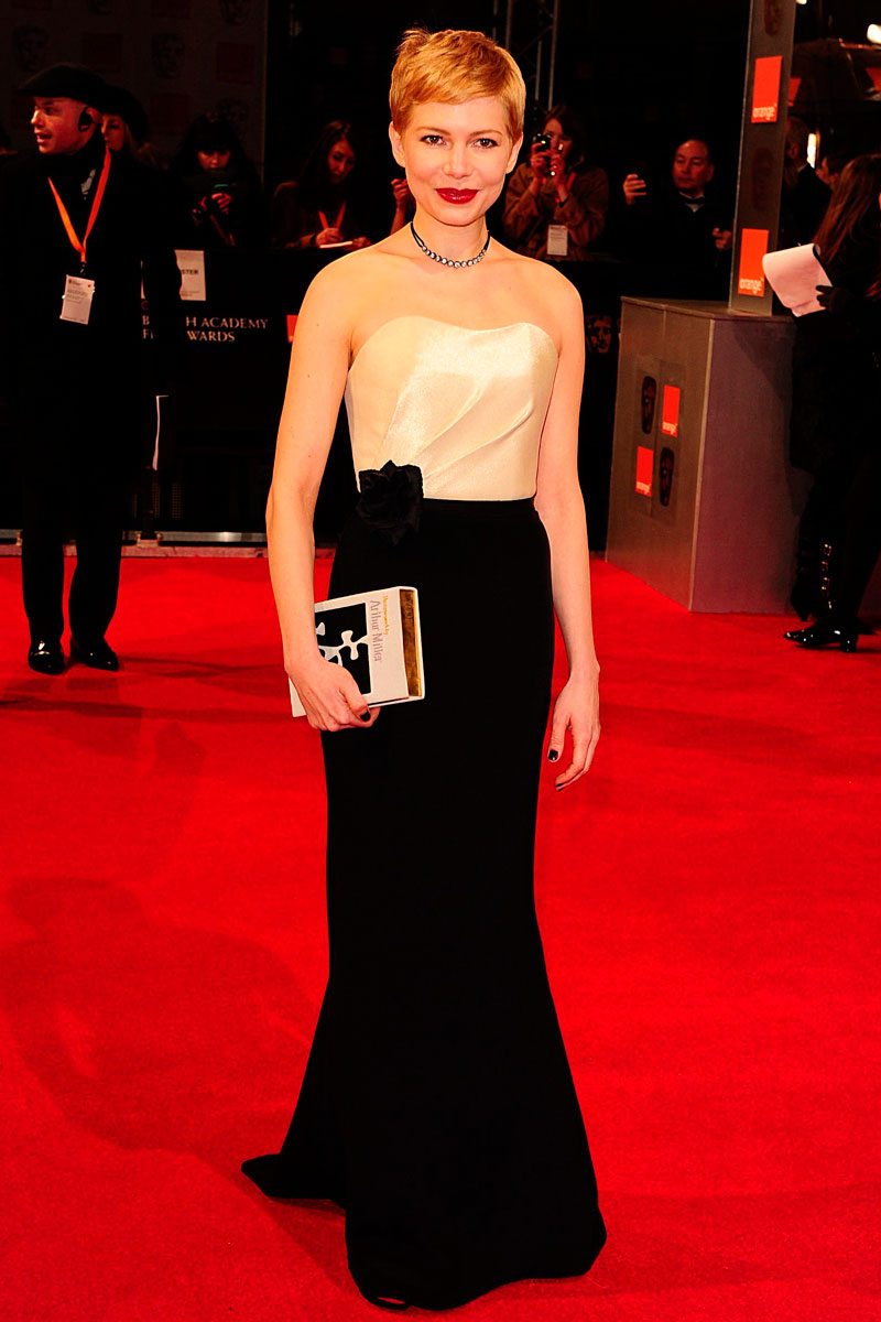 Michelle Williams BAFTA 2012