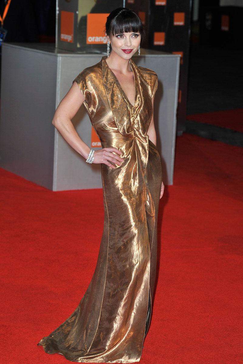 Christina Ricci bafta 2012