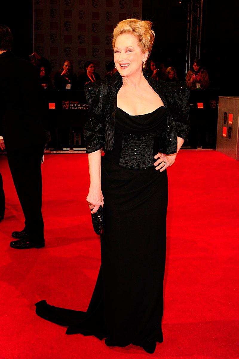 Meryl Streep bafta 2012