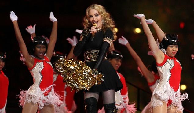 La Super Bowl de Madonna