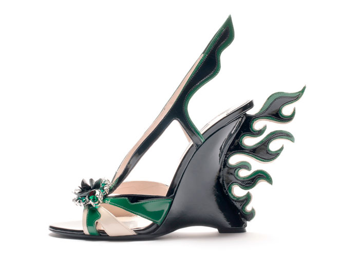 Zapato Cadillac de Prada