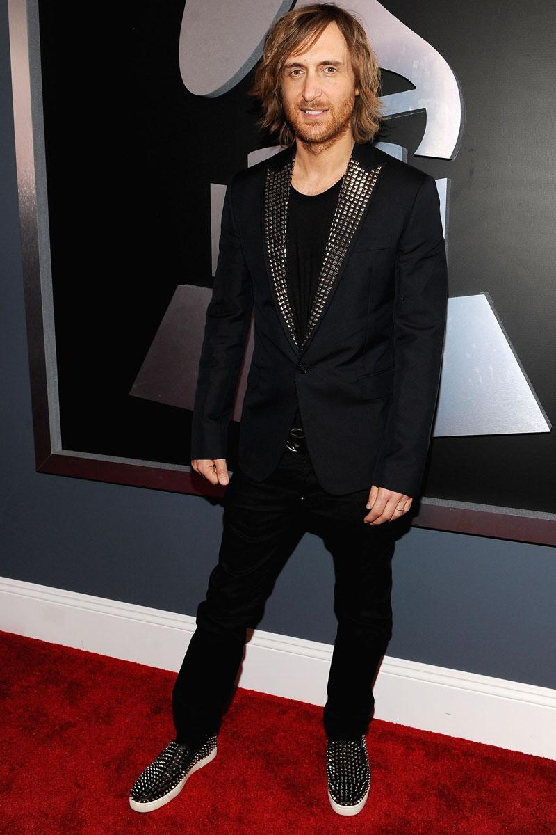 El lado masculino de los Grammy