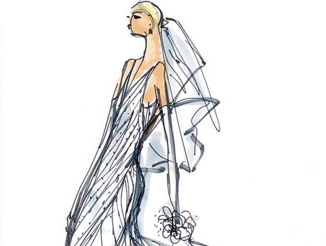 El vestido de novia de Marta Ortega