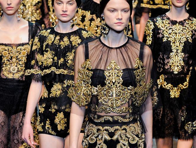 Dolce & Gabbana otoño-invierno 2012/13