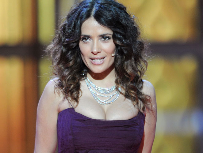 Salma en los Goya 2012
