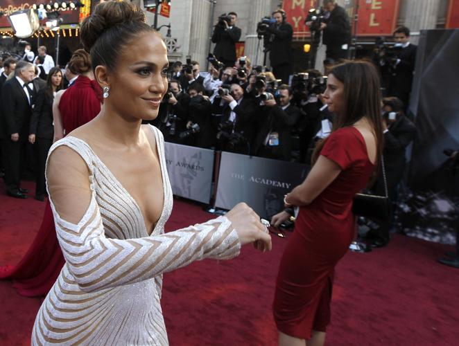 Jennifer Lopez saca lo mejor y peor de sí misma en la alfombra roja
