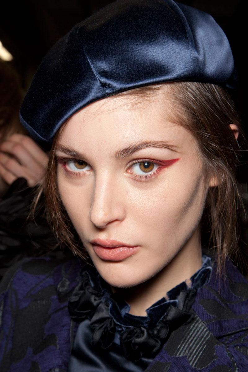 Las 10 sombras de ojos más deseables de la Milan Fashion Week