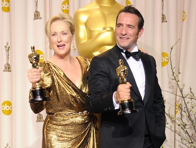 Meryl Streep y Jean Dujardin